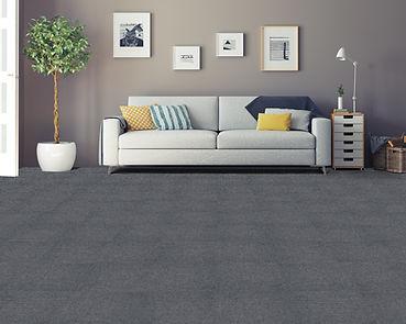 Nexus Carpet Tiles - Smoke Room Setting.