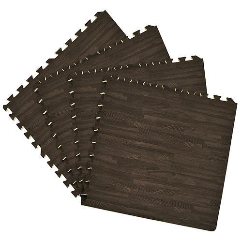 Interlocking Foam 24x24 Anti Fatigue Floor Tiles 4 tiles/16 Sq. Ft. - Charoal
