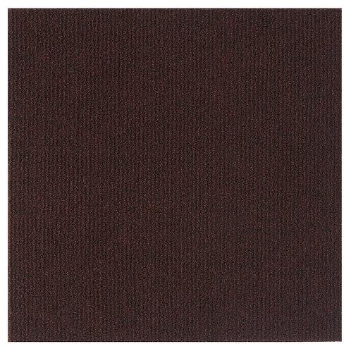 Nexus 12x12 Self Adhesive Floor Tile - Brown, 12 Tiles/12 sq. ft.