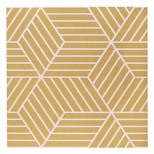 Retro 12x12 Self Adhesive Vinyl Floor Tile - 20 Tiles/20 sq. ft. - Latte
