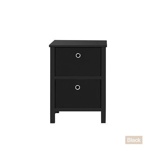 EZ Home Solutions ™ Foldable Furniture 2 Drawer Night Stand 22x16x19