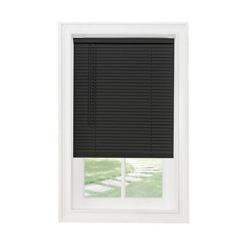 "Cordless GII Morningstar 1"" Light Filtering Mini Blind - Black"