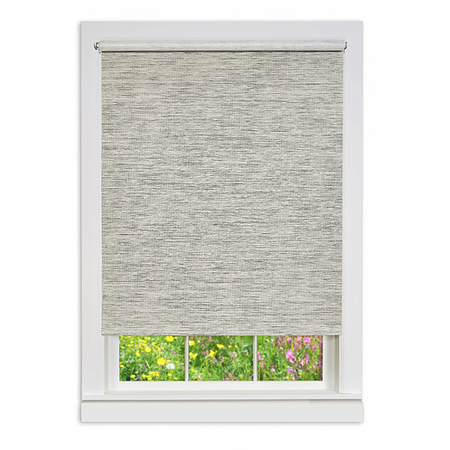Cords Free Privacy Jute Shade - Heather Grey