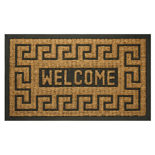 """Coco Mat - Welcome Key, 18"""" x 30"""""""