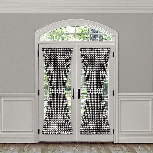 "Buffalo Check French Door Panel - 54"" x 72"""