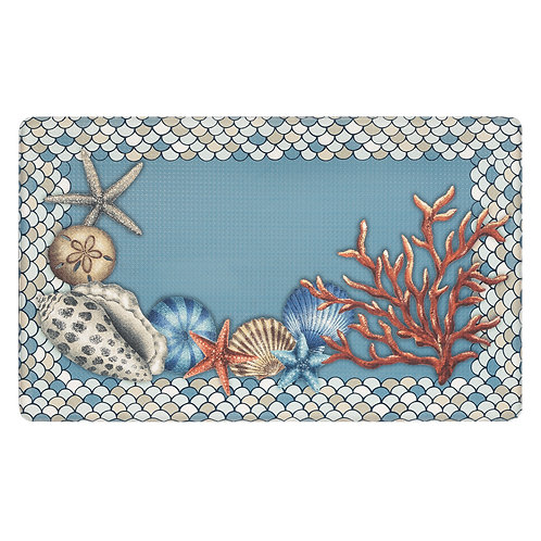 "Anti Fatigue Mat - Coastal, 18"" x 30"""