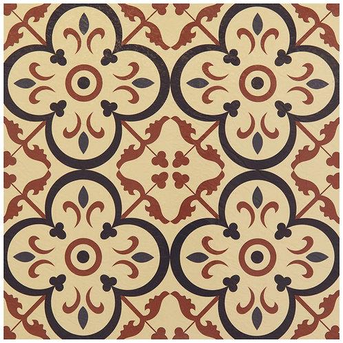 Retro 12x12 Self Adhesive Vinyl Floor Tile - 20 Tiles/20 sq. ft. - Burch