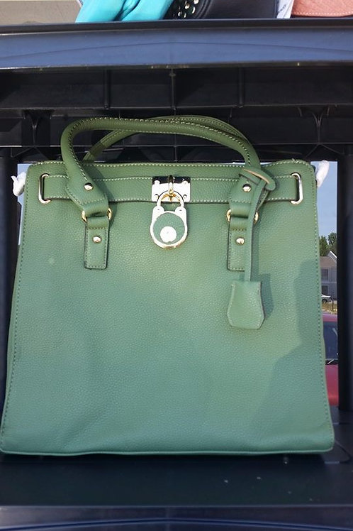 "G&E Teal ""Around Town Glam"" Tote"