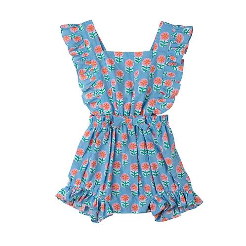 [Pre-Order] Kidsagogo - Honey Romper Piccolo Sea Blue