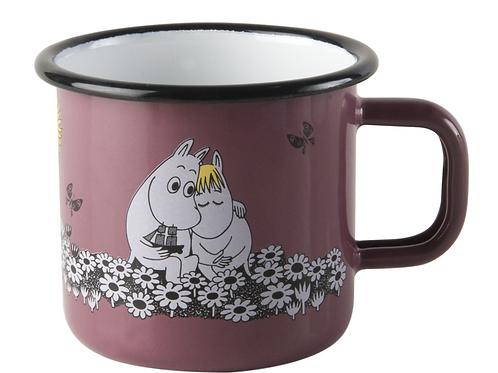 "Moomin ""Together forever"" Mug 370ml pink - Muurla"