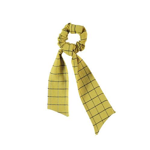 Piupiuchick - Elastic hair band | checkered camel