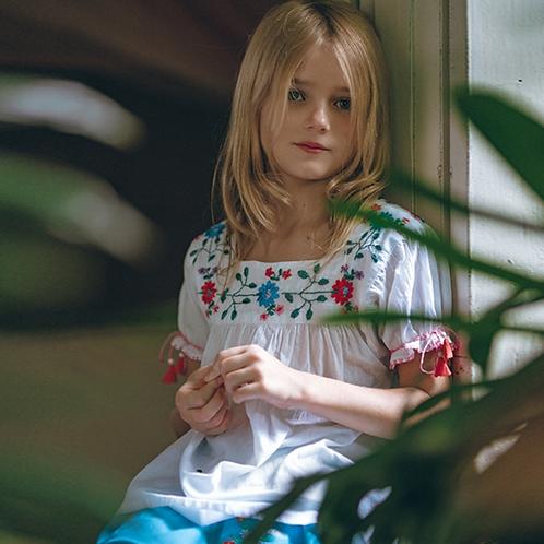 Kidsagogo - Mirabelle Dress White/Hot