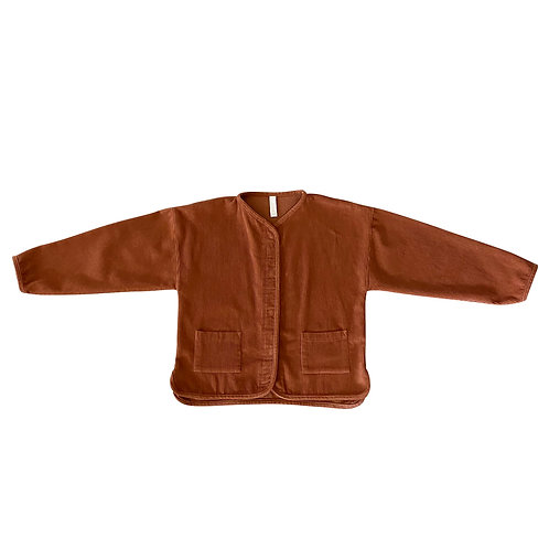 LIILU - Cord Jacket Earth
