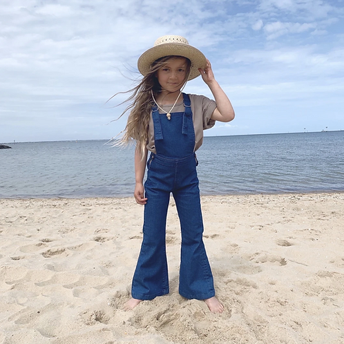 Twin Collective Kids - Farrah Flare Jean - Retro Blue