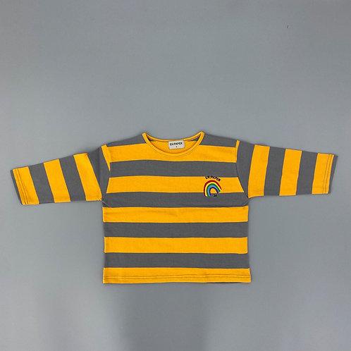 En:Paper - Yellow Stripe T Shirt