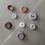 Thumbnail: Mushie - Stacking Cups Toy (Petal)