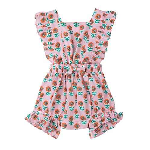 [Pre-Order] Kidsagogo - Honey Romper Piccolo Blush