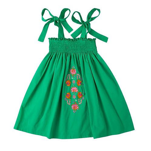 Kidsagogo - Noni Dress Green