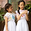 Thumbnail: [Pre-Order] Kidsagogo - Marie Pinnie Dress White/Cool