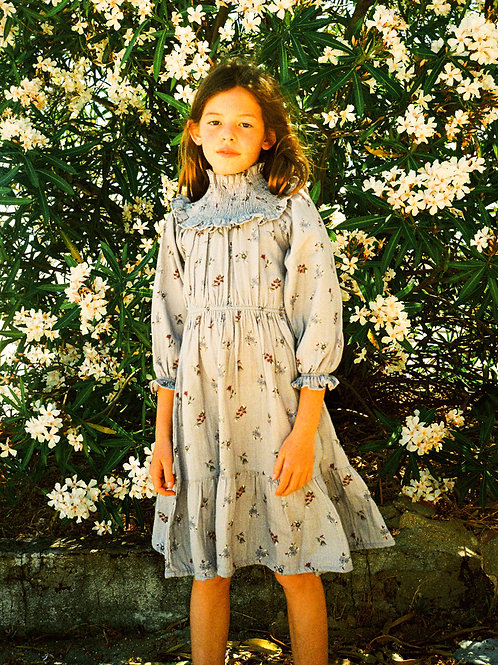 THE NEW SOCIETY - DONNA DRESS FLOWER