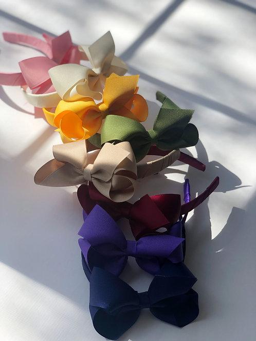Weeones - Medium Classic Grosgrain Bow on Headband