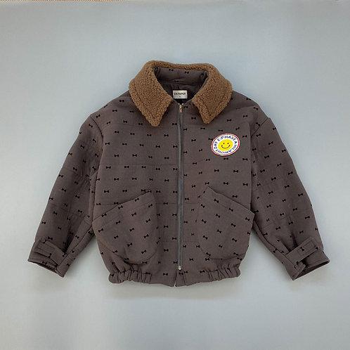 En:Paper Brown Smile Jacket