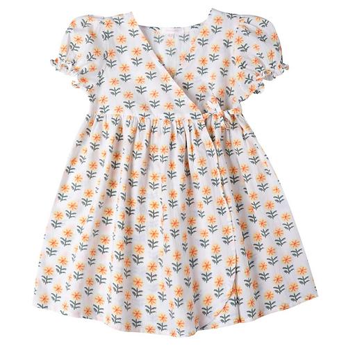[Pre-Order] Kidsagogo - Amandine Dress Piccolo Butter
