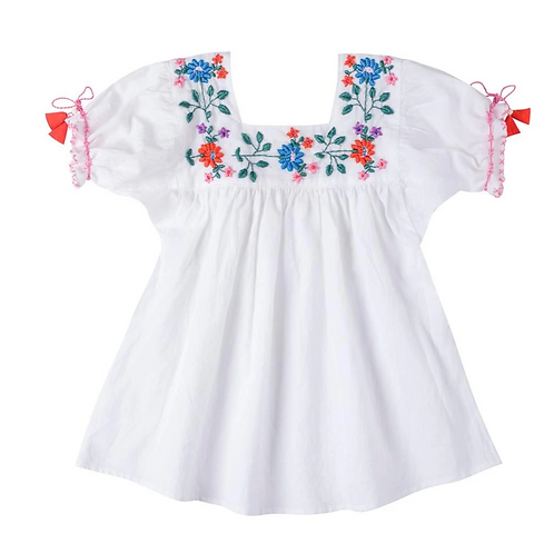 [Pre-Order] Kidsagogo - Mirabelle Top White/Hot