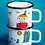 Thumbnail: Little My Mug 370ml white - Muurla