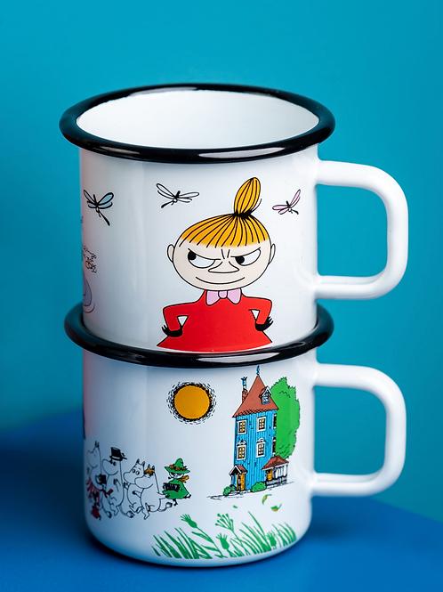 Little My Mug 370ml white - Muurla