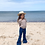 Thumbnail: Twin Collective Kids - Farrah Flare Jean Retro Blue