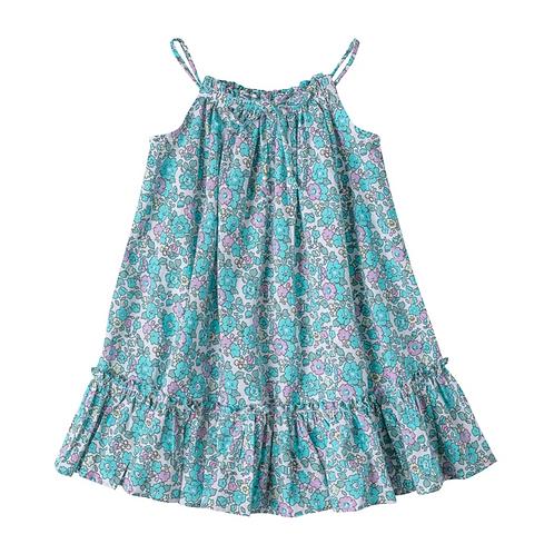 [Pre-Order] Kidsagogo - Aera Dress Jolie Aqua/Lilac