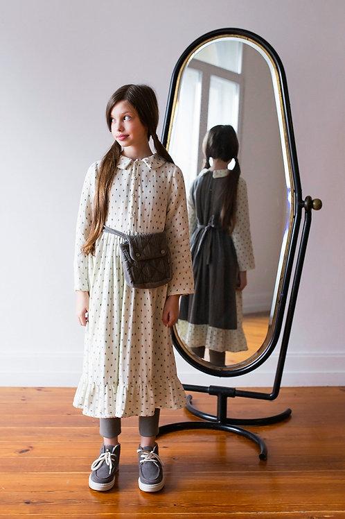 Belle Chiara -  Dress Apron Print Small Diamond