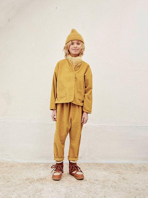 LIILU - Cord Pants Honey