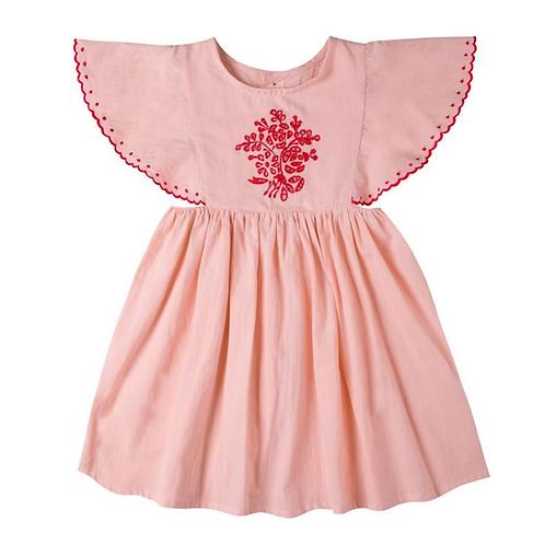 Kidsagogo - Nomi Dress Blush