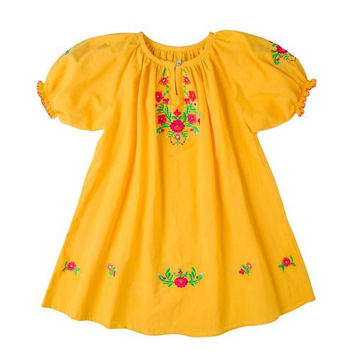 [Pre-Order] Kidsagogo - Nina Dress Marigold