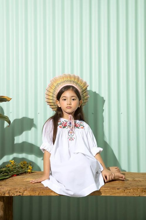 Kidsagogo - Gia Dress White