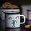 Thumbnail: Pippi enamel mug Pippi and the Horse 250ml - Muurla