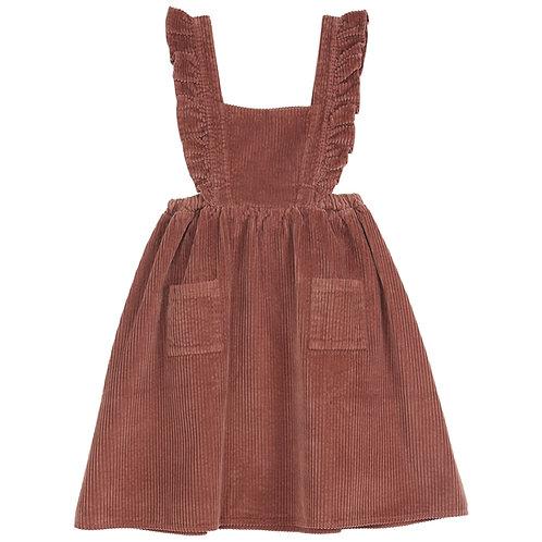 Emile et ida -  Auburn Girl Dungarees Skirt