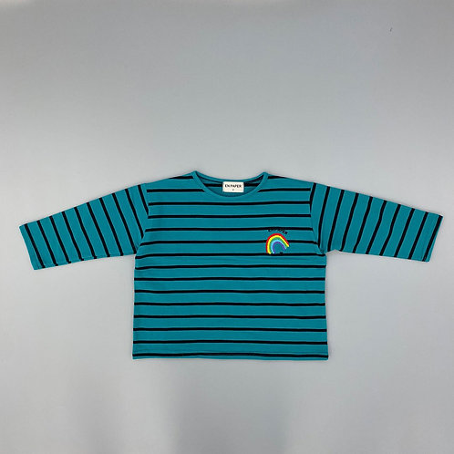 En:Paper - Blue Stripe T Shirt
