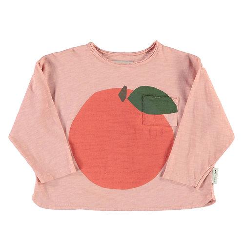 Piupiuchick - Longsleeve   light pink w/ peach print