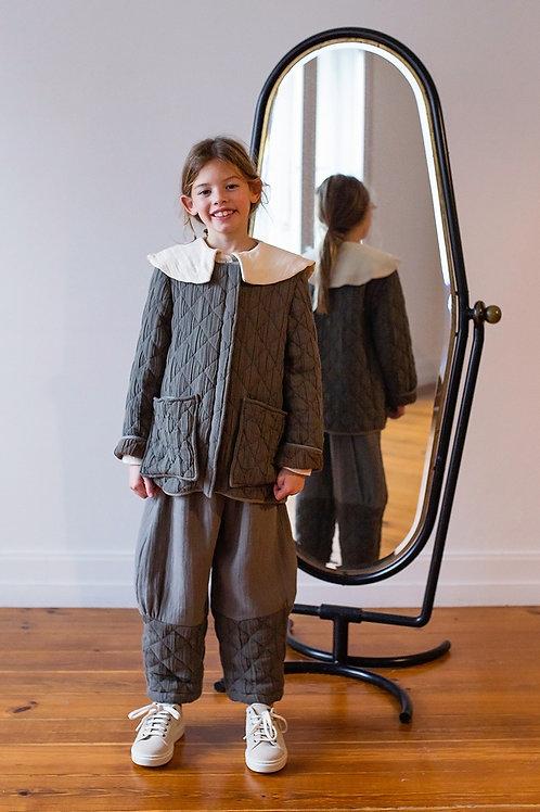Belle Chiara -  Big Diamond Grey Jacket