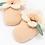 Thumbnail: Meri Meri - Peach Daisy Baby Booties