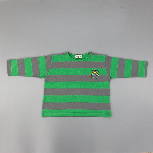 En:Papre - Green Stripe T Shirt