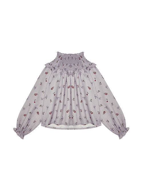 THE NEW SOCIETY - DONNA BLOUSE FLOWER