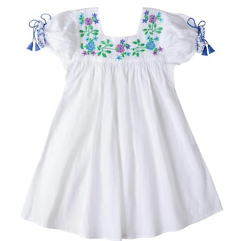 [Pre-Order] Kidsagogo - Mirabelle Dress White/Cool