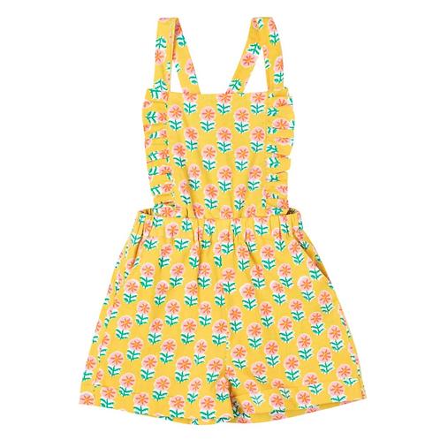 [Pre-Order] Kidsagogo - Ili Jumpsuit Piccolo Fiore Marigold