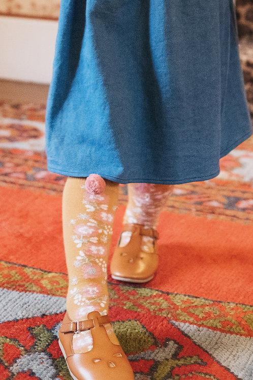 Louise Misha -  Chelie Socks Mustard