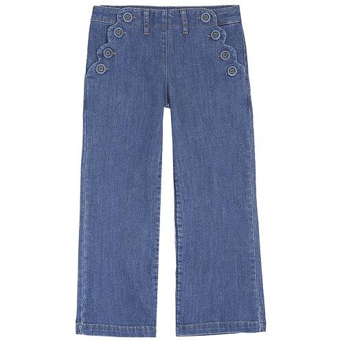 Emile et ida - Medium Bleach Girl Sailor Jeans
