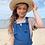 Thumbnail: Twin Collective Kids - Farrah Flare Jean - Retro Blue